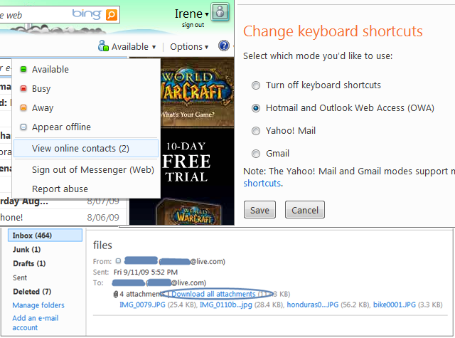 First Windows Live Wave 4 update is for Hotmail (Updated)