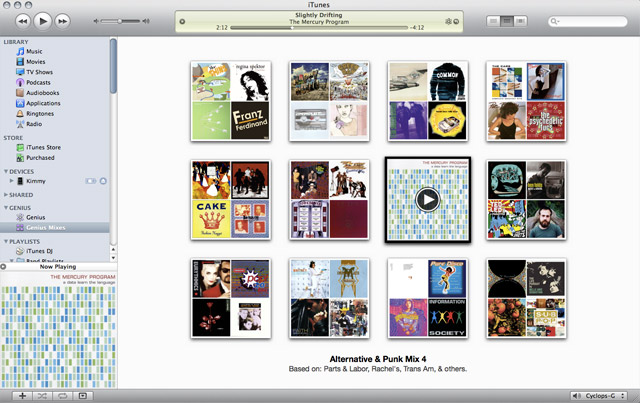 iTunes 9 can build 12