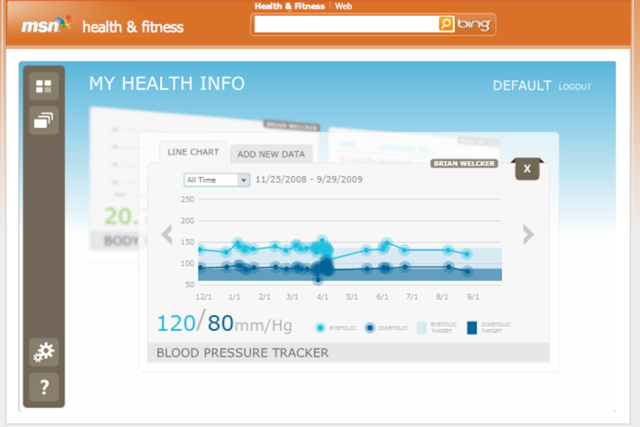 MSN's new beta service lets you manage your health online