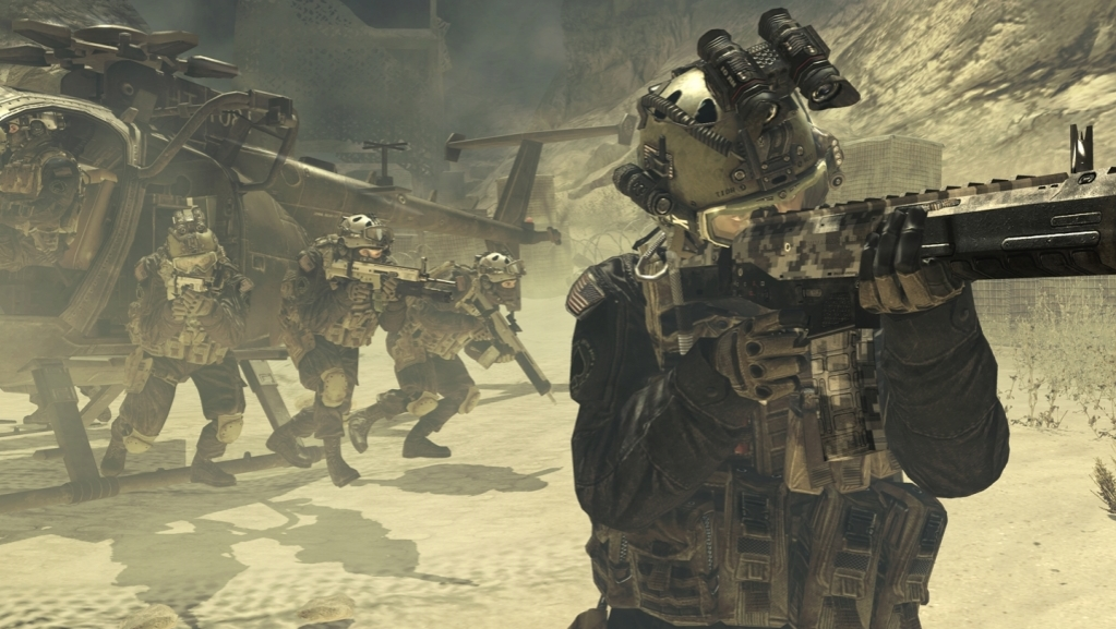 Killing innocents: a Marine's take on Modern Warfare 2 leak