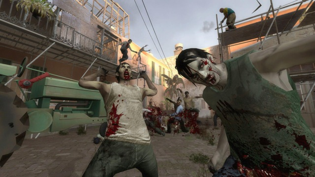 These <i>Left 4 Dead 2</i> zombies could look a few percent better on a Linux box, but only with some careful driver and optimization work.