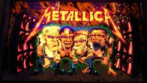 Crafting a custom Metallica pinball table with Linux, love | Ars