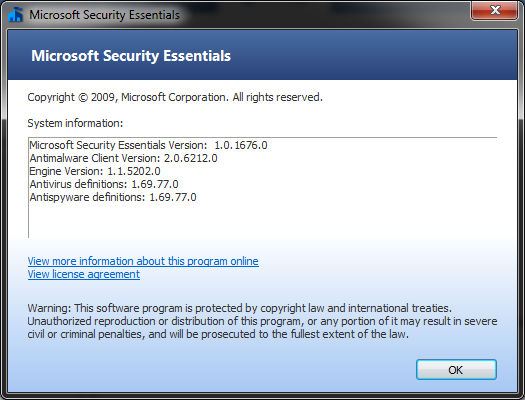 Microsoft Security Essentials ongoing beta begins