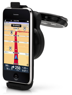 TomTom Car Kit a no-go for iPod touch and early iPhones