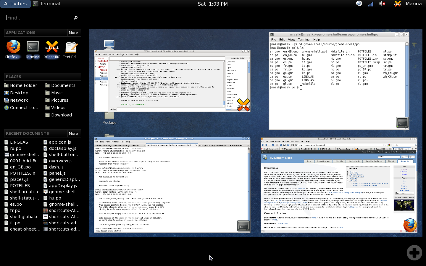GNOME roadmap updated, version 3 pushed back to late 2010