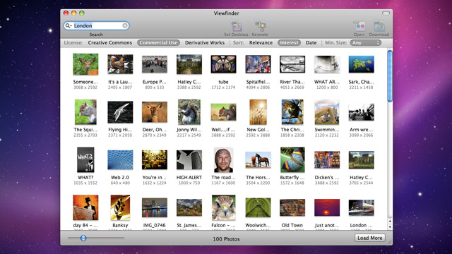 First look: Viewfinder for Mac finds images for you