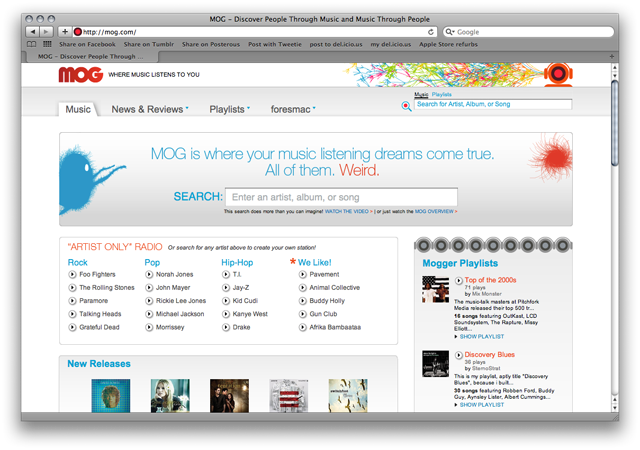 Hands on: Mog All Access puts world's music in the cloud