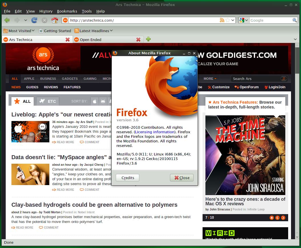 Review: Firefox 3.6 brings joy to Web devs, not just users