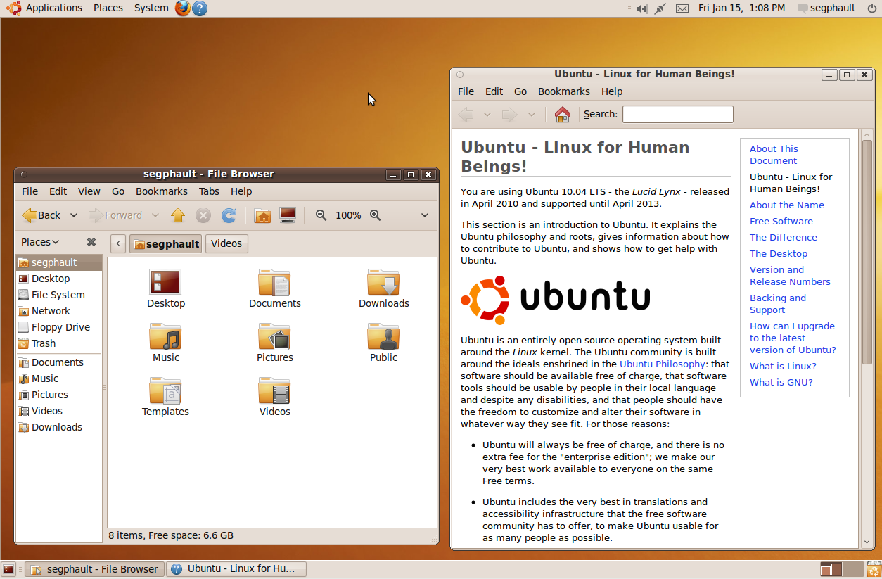 Ubuntu 10.04 alpha 2 brings Pitivi, panel changes
