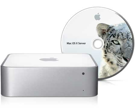 A review of the Mac mini with Snow Leopard Server