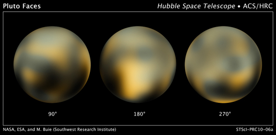 Hubble's portrait of everybody's favorite ex-planet