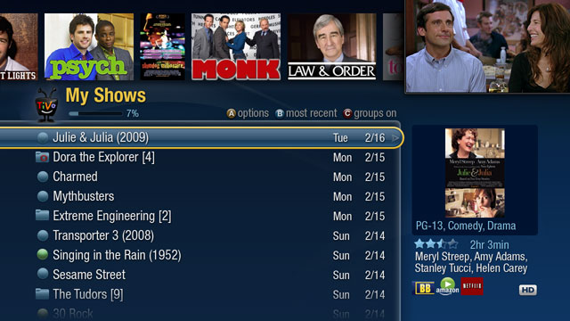 TiVo turns the DVR into a Flash-based app platform
