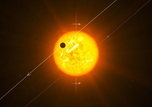 Some hot Jupiters orbit the wrong way