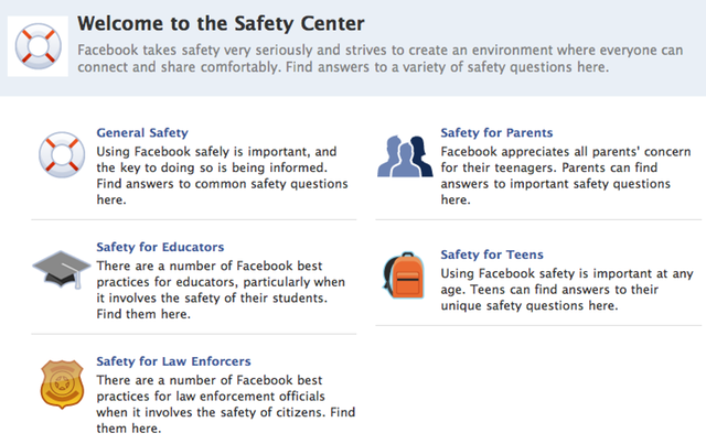 Facebook tries to be proactive with new Safety Center