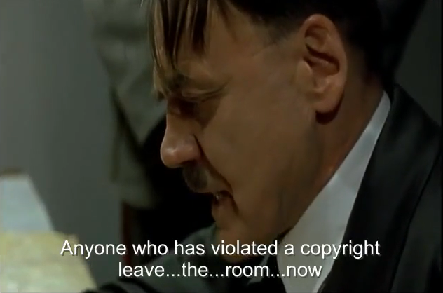 Attack on Hitler parodies now newest front in copyright wars