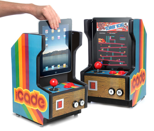 Though the iCade is only a fake product used for an April Fool's joke, it could be a reality if Apple made making accessories for the dock connector easier.