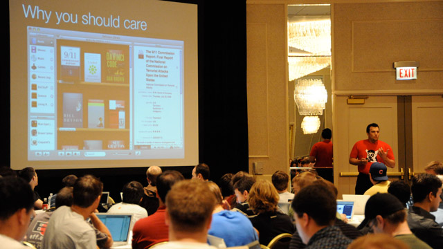 Developer Mike Lee tells C4 conference attendees in 2008 why they should care about making software insanely great.