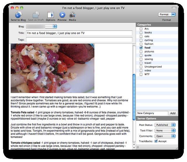 Mac blog editor MarsEdit 3 finally gains rich text editor