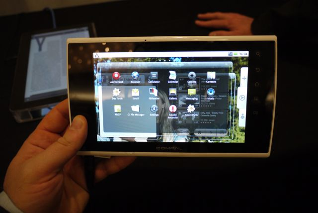 Android tablet prototypes not yet ready for prime time