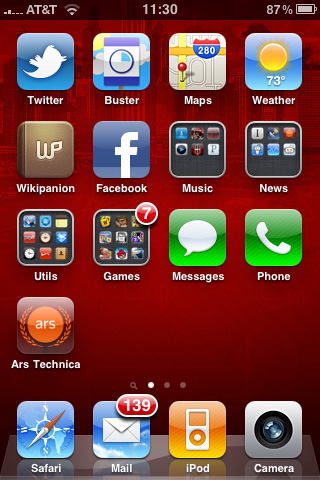 Ars reviews iOS 4: what's new, notable, and what needs work