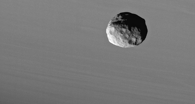 The odd shape of the moon Janus is attributed to its relatively recent formation