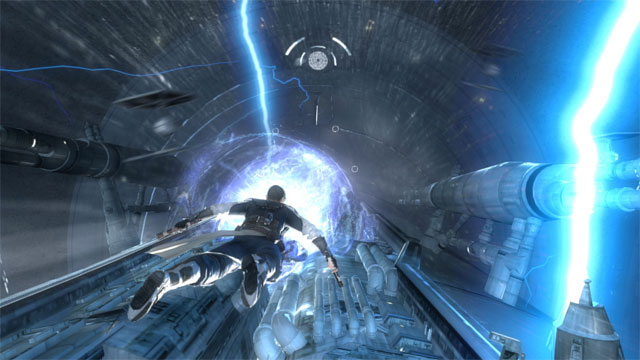 Force Unleashed II has dual lightsabers, familiar gameplay