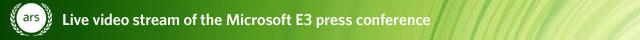 E3: Microsoft Keynote live video stream