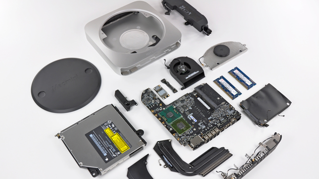 Teardown shows power savings eliminated Mac mini power brick