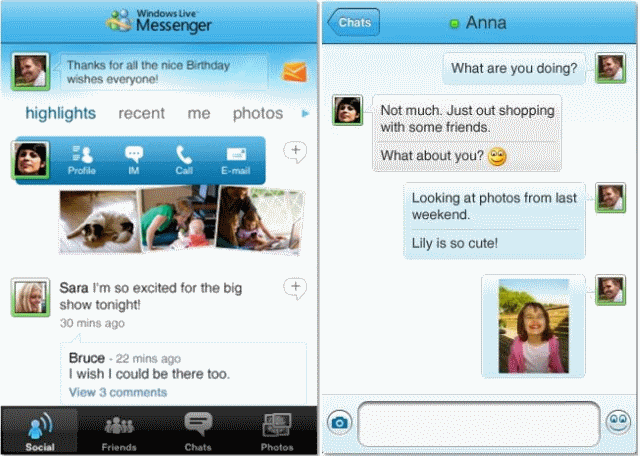 Microsoft puts Messenger on the iPhone's App Store