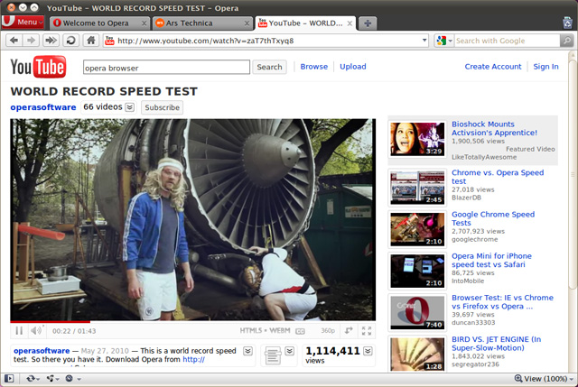 Opera preview build gets WebM, new HTML5 features