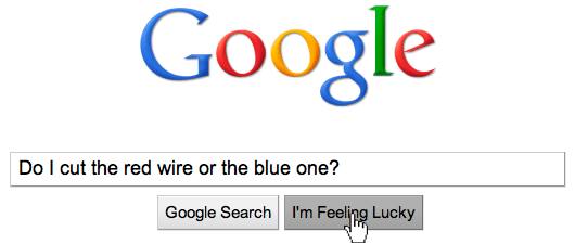 Students trust high Google search rankings too much