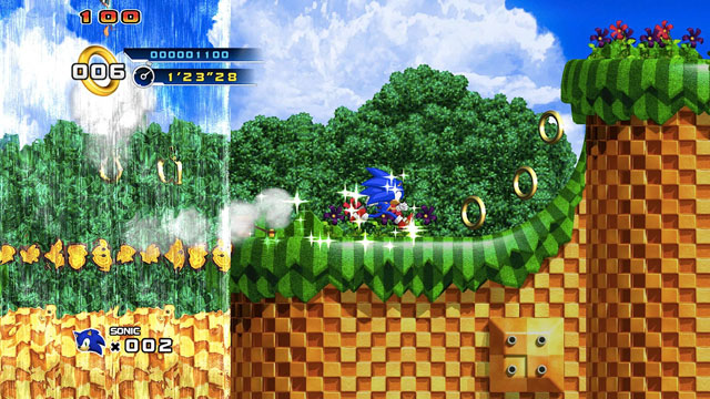 Sonic 4: the brand is not damaged, this is what you want