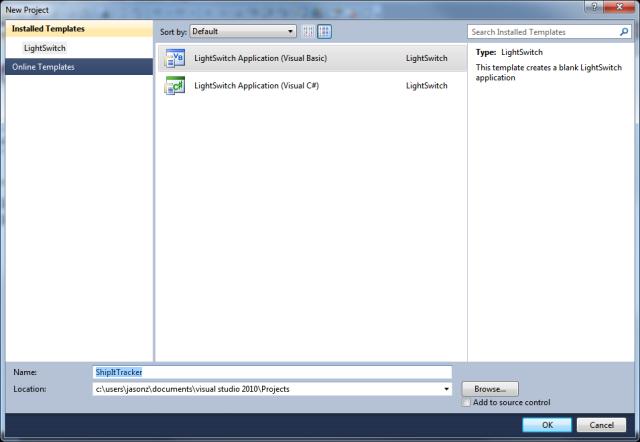 Microsoft turns on Visual Studio LightSwitch