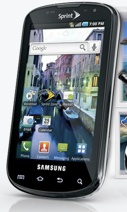 Samsung Epic 4G launches on Sprint August 31