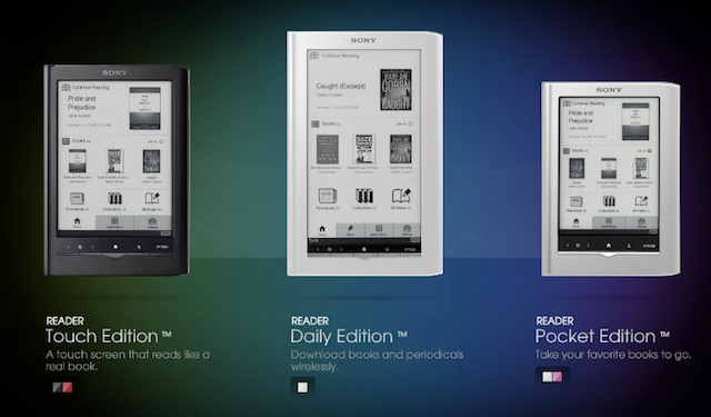 Sony's new e-readers: who needs wireless?