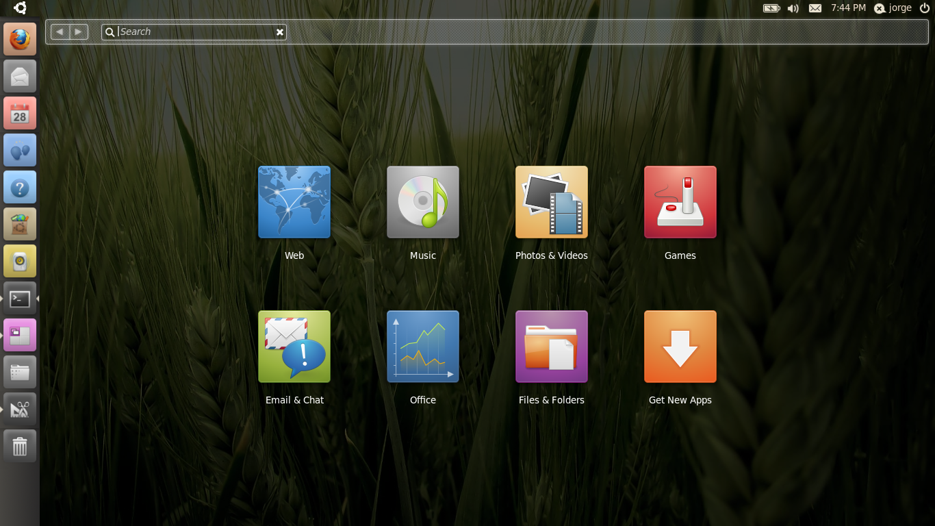 Ubuntu 10.10 beta arrives with new netbook UI