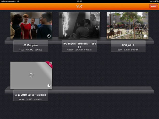Hands on with VLC Movie-Player for iPad