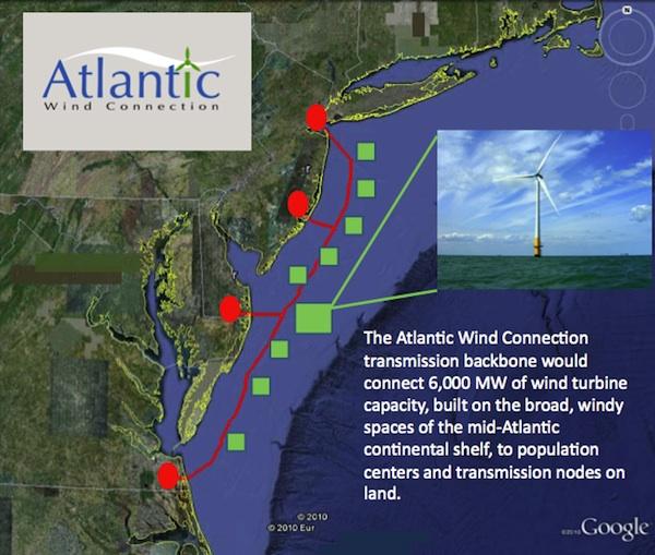 Google funds 6,000MW mid-Atlantic wind farms, transmission grid