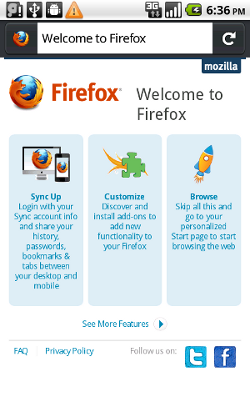 Mozilla releases Firefox 4 beta for Maemo and Android