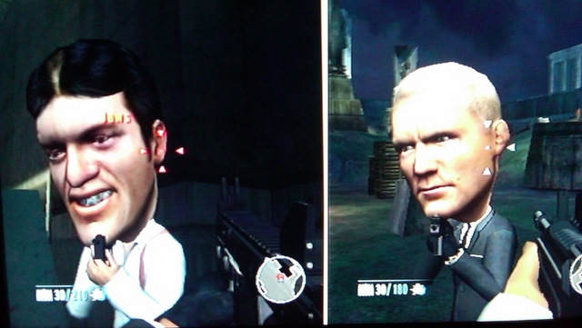 Big-head mode returns in Wii Goldeneye 007, college days relived