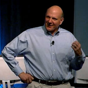 Steve Ballmer Speaks Passionately about Microsoft, Leadership … and Passion