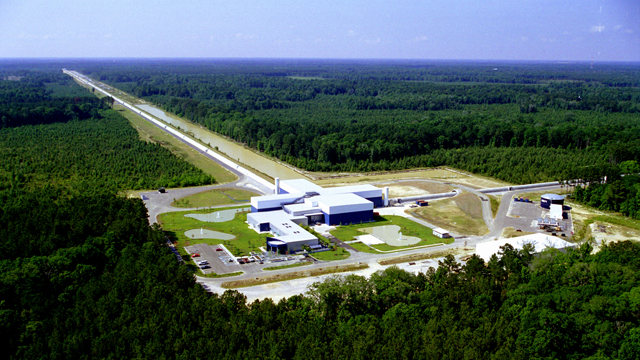 LIGO, the facility that made the groundbreaking discovery of gravitational waves - and potentially of dark matter, as well.