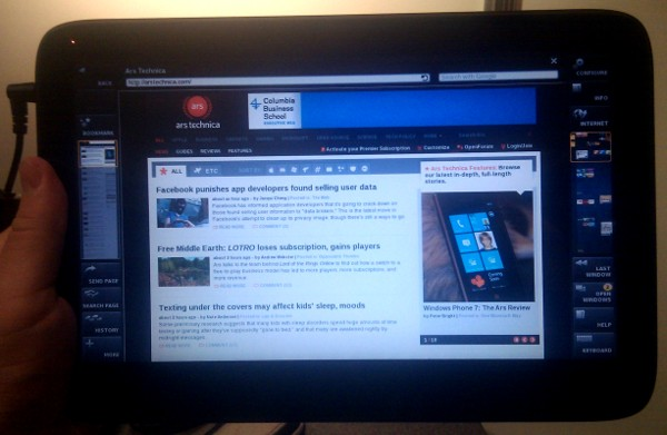 Hands on: MeeGo-based WeTab tablet is no iPad killer—yet