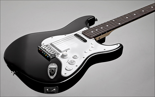Rock Band 3 Squier Stratocaster a Best Buy Exclusive, $280