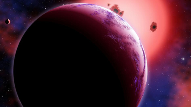 How to probe the atmosphere of a planet orbiting a distant star