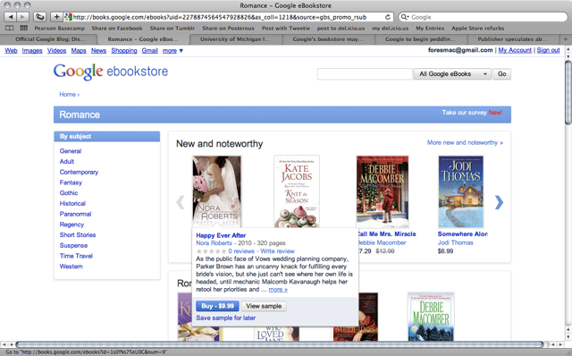 Google launches eBookstore with choice of sellers and devices