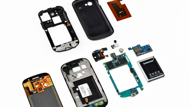 Nexus S torn asunder, Contour Display secrets revealed