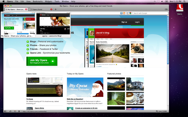 Opera 11 now available with extensions, tab stacks