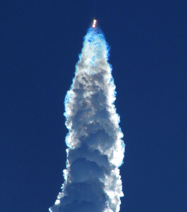 Yesterday's Delta IV-Heavy rocket launch: a personal impression