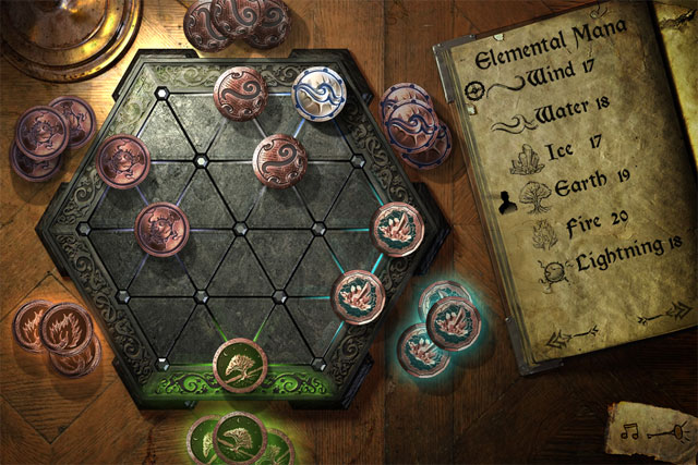 <em>Wizard Hex</em> on iPad